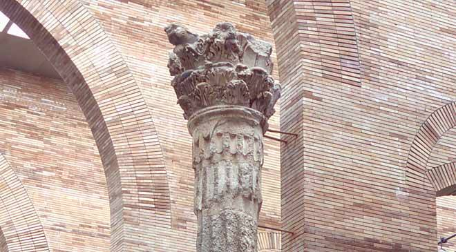Column from the Temple of Diana. National Museum of Roman Art in Mérida © Ministerio de Cultura
