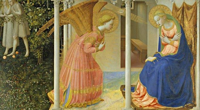 'The Annunciation' © Madrid, Museo Nacional del Prado