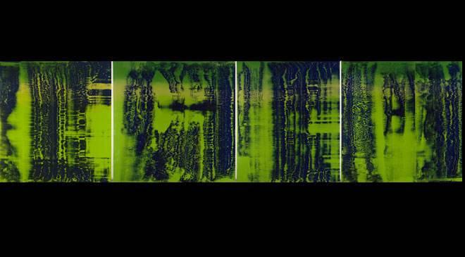Green Blue Reina Sof 237 A National Art Museum Madrid At