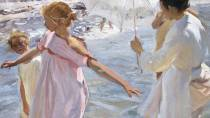 'The Bathing Hour, Valencia'. Sorolla Museum, Madrid © Ministerio de Cultura