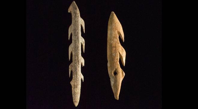 Bone harpoons. Museo Nacional y Centro de Investigación de Altamira © Ministerio de Cultura
