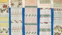 Catalogue of European fabric samples. General Archive of the Indies © Ministerio de Cultura