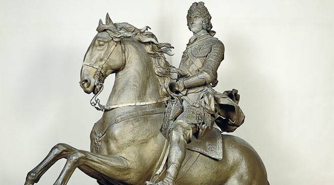«Felipe V a caballo». Museum of the San Fernando Royal Academy of Fine Arts, Madrid © Ministerio de Cultura