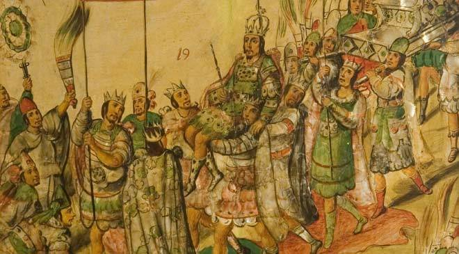 Conquest Of Mexico Reception Of Moctezuma Extracted From The