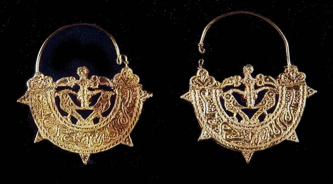 Earrings. Majorca Museum. Palma © Ministerio de Cultura