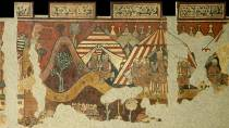 Wall paintings of the conquest of Majorca. Barcelona © National Art Museum of Catalonia (MNAC)