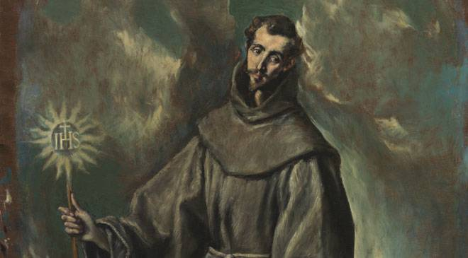 St. Bernardino of Siena, El Greco Museum, Toledo at Spain ...