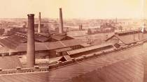 Panorama of the Krupp factory in Essen © Museo del Ejército - Ministerio de Defensa