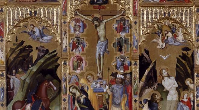 Altarpiece of friar bonifacio ferrer valencia museum of - Galerias de arte en valencia ...