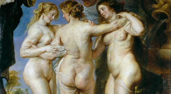 «Les Trois Grâces» ©Madrid, Museo Nacional del Prado