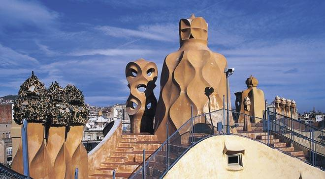 Gaudi Modernist Icon In Spain Is Culture