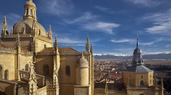 Segovia Cathedral © Spanish Cultural Heritage Institute (IPCE)