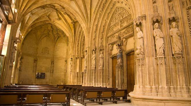 Vitoria Cathedral Restoration In Spain Is Culture