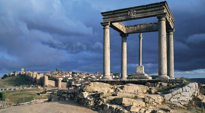 Ávila a unesco world heritage site in spain is culture