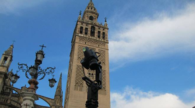 The digitalisation process of the Giralda © Fundación ITMA/Segittur