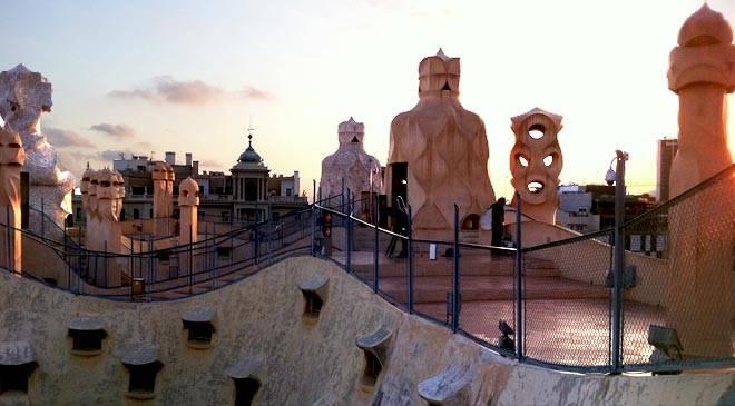 Casa Milá house, \'La Pedrera\', 3D virtual visit in Spain is Culture