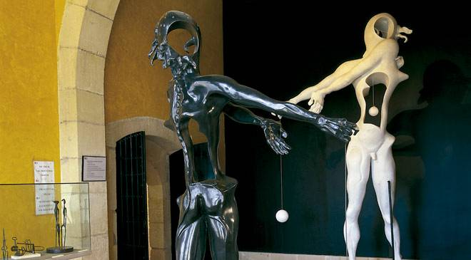 Collection of sculpture by Salvador Dalí in Alicante © Turespaña