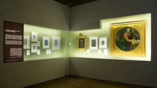 Room in the exhibition Miguel de Cervantes: from life to myth (1616-2016) © Biblioteca Nacional de España