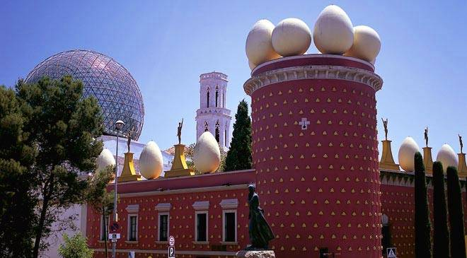 Museo Dali Barcelona.Museums On Picasso Miro Dali And Tapies In Catalonia In Spain Is