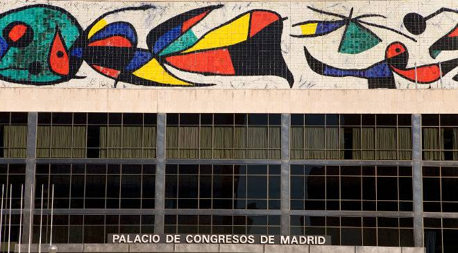 Mural of Madrid Conference Centre © Turespaña