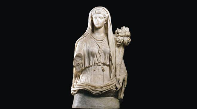 Livia, wife of Emperor Augustus, associated with the goddess of Fortune (inv. no. 20332) © Museo Arqueológico Nacional