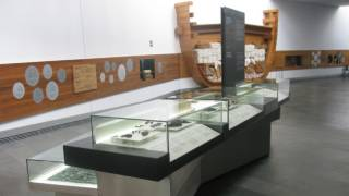 Objects from the frigate, 'Nuestra Señora de las Mercedes', in the ARQUA Museum in Cartagena © Ministerio de Educación, Cultura y Ciencia