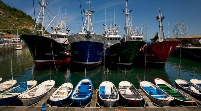 Fishing port. Getaria © Turespaña