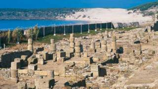 Stone blocks in the ancient city of Baelo Claudia. Bolonia-Tarifa, Cadiz © Turespaña
