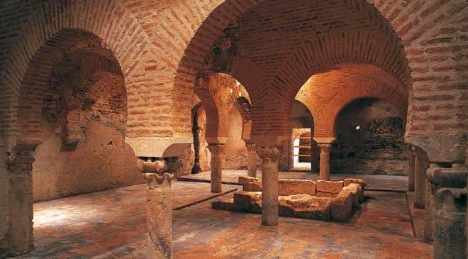 Baños Arabes Real Alhambra Granada:Arab Baths Jaen