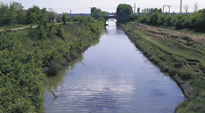 View of the canal course © Turespaña