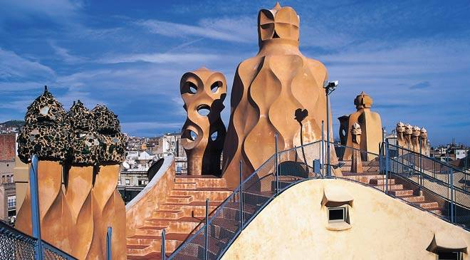 Gaud route in barcelona cultural routes at spain is culture - Agenda cultura barcelona ...