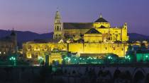 View of the great Mosque of Cordoba by night © Turespaña