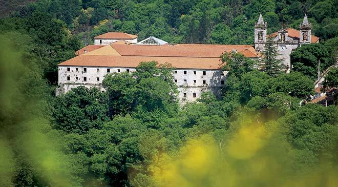 Panoramic view of the San Esteban Monastery ©Turespaña