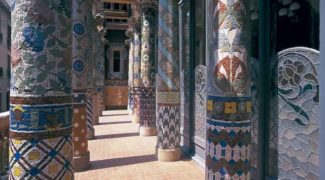 Modernist route in barcelona cultural routes at spain is culture - Casas de musica en barcelona ...