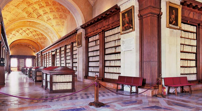 Interior of the General Archive of the Indies. Seville © Turespaña