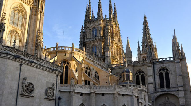 Detail of the towers of Burgos Cathedral © Turespaña