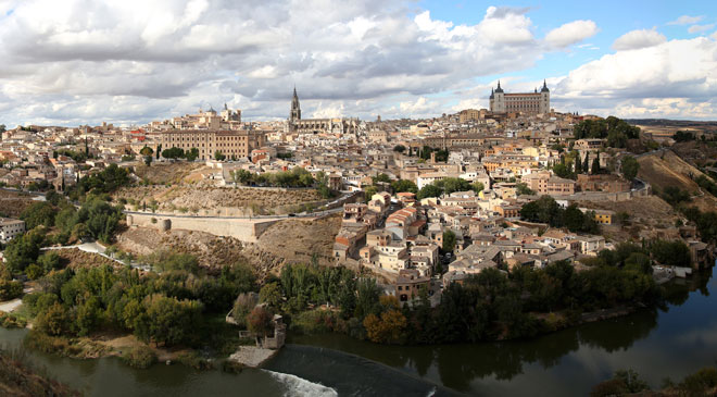 General view of the city of Toledo © CEG. Spanish Culinary Capital