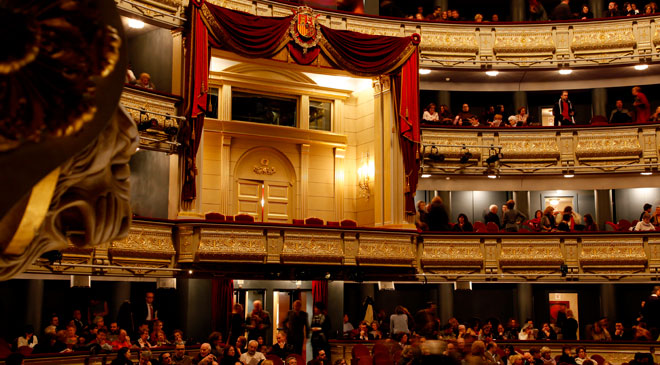 View of a box in the Teatro Real, c. Turespaña