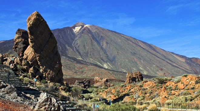 Landscape in the Teide National Park (Tenerife) © Turespaña